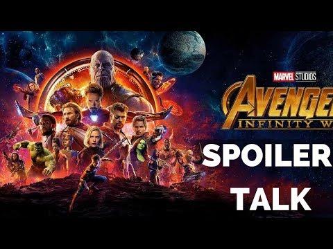 Avengers: Infinity War Live Spoiler Talk!!!
