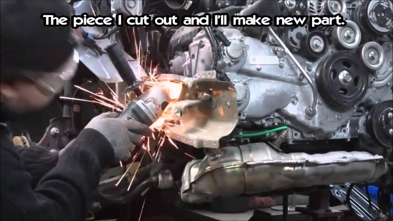 Ремонт кузова Subaru Impreza часть1