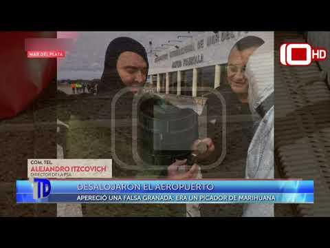 Desalojaron el Aeropuerto Ástor Piazzolla
