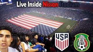 USA vs Mexico At Nissan Stadium Nashville TN (9/11/2018)