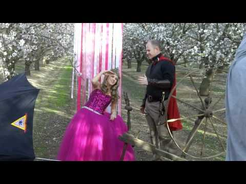 Jessica Frey Photography - Behind the Scenes of the Sleeping Beauty Photo Shoot