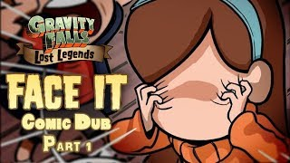 Part 1 - THEY STOLE MABEL'S FACE!? - Gravity Falls Comic Dub (Gravity Falls Lost Legends: Face It)
