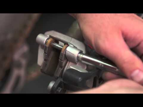 Motorcycle Tech Tips: Rear Brake Pads