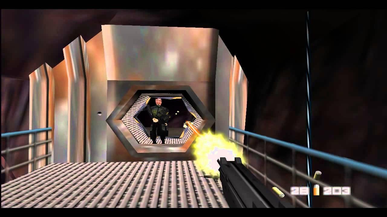 Goldeneye n64 emulator controls