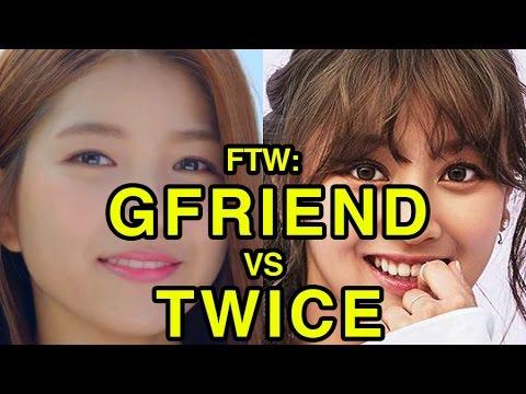 For The Win: GFriend vs Twice