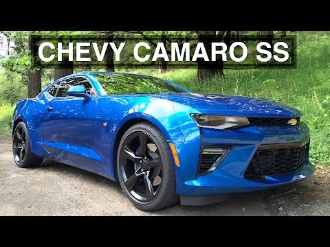 2016 Chevy Camaro SS Review - American Muscle At Its Best