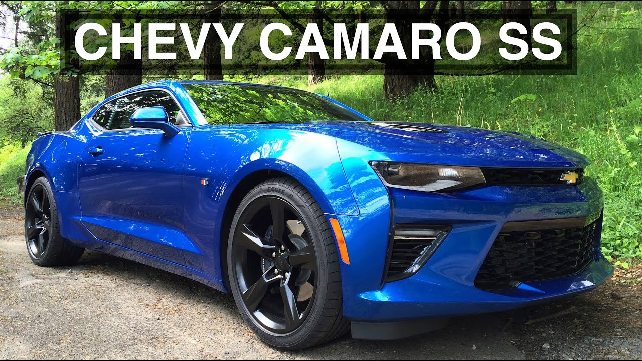 2016 Chevy Camaro SS Review - American Muscle At Its Best - YouTube