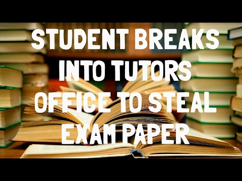 Kentucky University Student Steals Exam