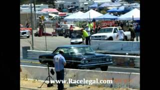 AFX Cars Drag Racing Barona Drag Strip 7-27-2013