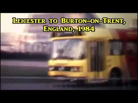 The Midland Fox rides through Leicester and Burton karaoke backing 318BK2