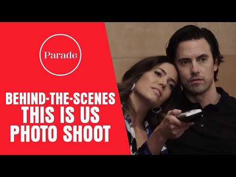 Behindthes With This Is Us Stars Milo Ventimiglia and Mandy Moore