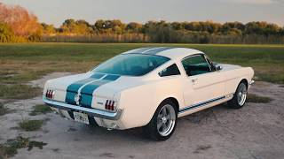 Production Car Review - Wimbledon White Metallic 1966 Shelby GT350