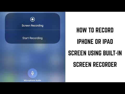 How to Record iPhone or iPad Screen Using Built-in Screen Recording Feature