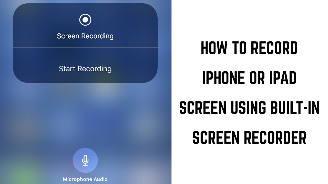 Where in the iPhone recorder Learning to record on iPhone