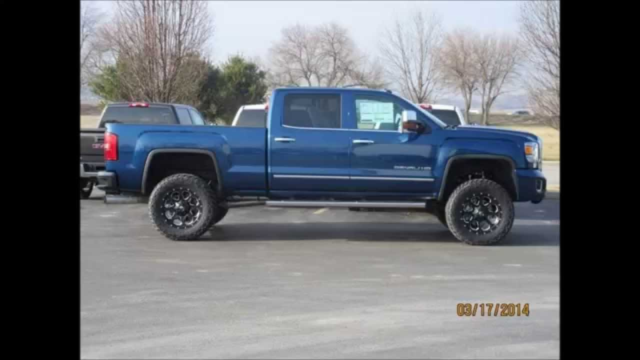 2015 gmc sierra 2500hd denali crew cab 4wd diesel lifted truck youtube GMC Denali Truck 2500 2015 Colors