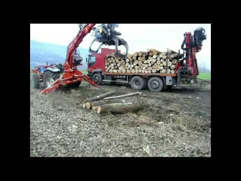 Caricatore Forestale Comaf Dalla Bona As 610 Youtube