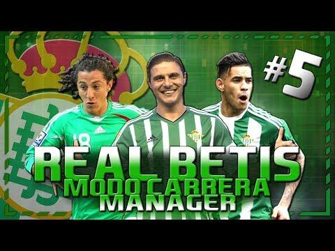 MUSONDA MARCA EL CAMINO   FIFA 18   MODO CARRERA MANAGER REAL BETIS #5 (JUEGO COMPLETO) LIVE 2.0