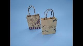 超简单的手提袋折纸,简单几步折一个盲袋,手工DIY折纸视频教程