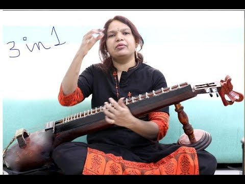 Dual fingering & vocal tried on Veena Punya Srinivas 3 in 1