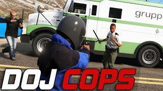 Dept. of Justice Cops #148 - Armored Car Robbery (Criminal)