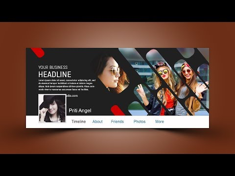 Stylish Facebook Cover Design   Photoshop Tutorial