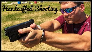 Shooting Various Firearms While Handcuffed