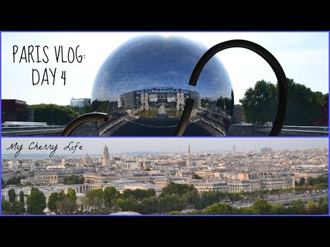 PARIS VLOG 2014: City of Science & Industry, The Army Museum, and the Eiffel Tower!