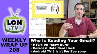 Weekly Wrapup 208 - Third Party Apps Reading Gmail, HTC