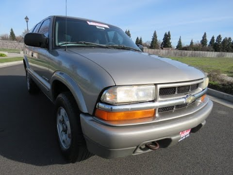 2004 chevy blazer 4x4 for sale orland california r r sales inc chico ca youtube. Black Bedroom Furniture Sets. Home Design Ideas