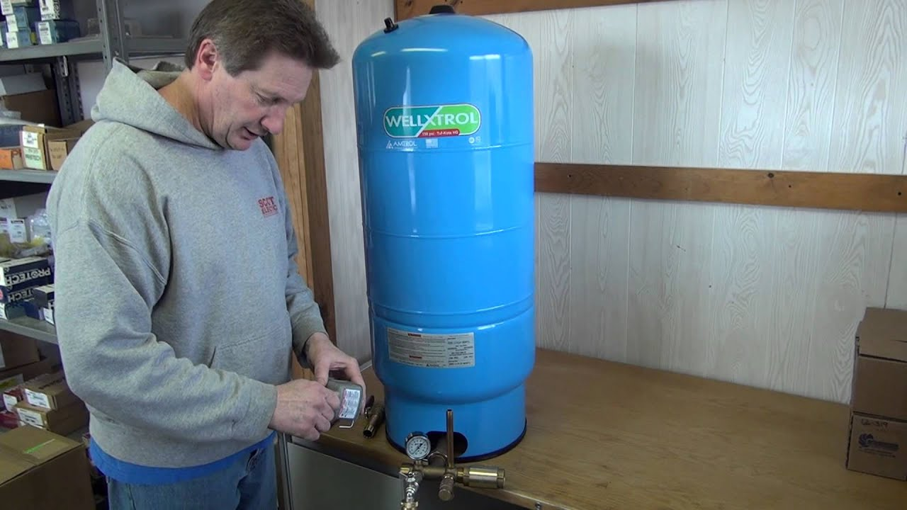 Introduction to sizing and installing a Cold Water