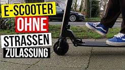 e-Scooter ohne Strassenzulassung legal in Deutschland fahren - alternative für den Xiaomi m365