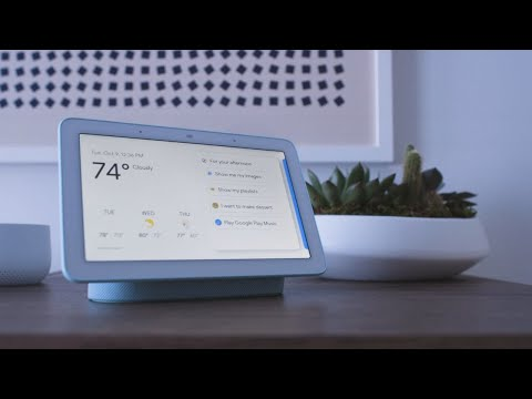 Google Home Hub hands-on