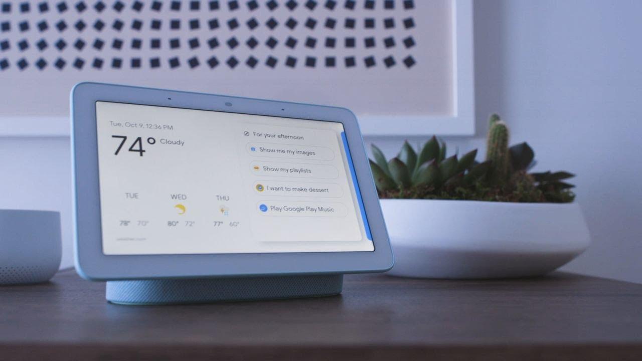Google Home Hub hands-on