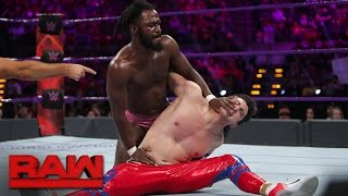 """The Outlandish"" Rich Swann vs. TJ Perkins: Raw, Dec. 5, 2016"