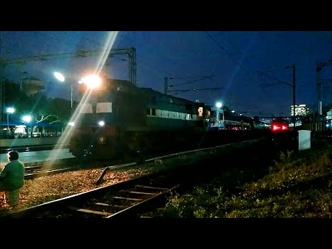 Indian Railways Compilation First Ever KJM WDP4D 40226 run in SWR and Failure