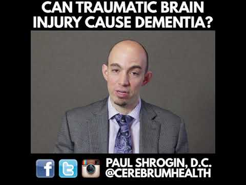 Can Traumatic Brain Injury Cause Dementia?
