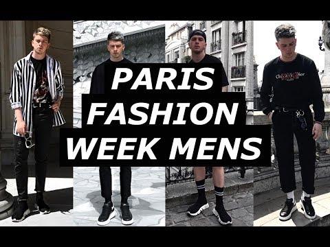 PARIS MENS FASHION WEEK | OUTFIT DIARY | Raf Simons, Balenciaga, Off White, How To Style | Gallucks