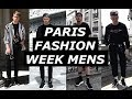 PARIS MENS FASHION WEEK | OUTFIT DIARY | Raf Simons, Balenciaga, Off White, How To Style | Gallucks