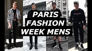Video PARIS MENS FASHION WEEK | OUTFIT DIARY | Raf Simons, Balenciaga, Off White, How To Style | Gallucks download MP3, 3GP, MP4, WEBM, AVI, FLV Agustus 2018
