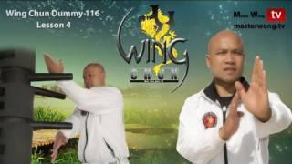 Wing Chun Kung Fu - Wing Chun Dummy Form Part 4-10