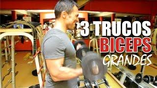 3 Secretos Para Ganar Masa Muscular En Los Biceps y Triceps