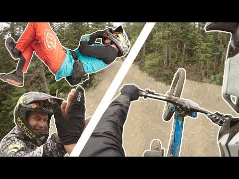 Summer Gravity Camp 2018: Whistler Bike Park (Crashes)
