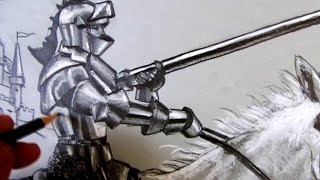 How To Draw A Knight Riding a Horse: Narrated