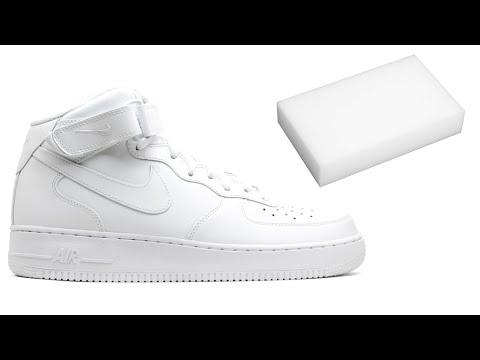 ЛАЙФХАК: как отмыть кроссовки? Меламиновая губка!