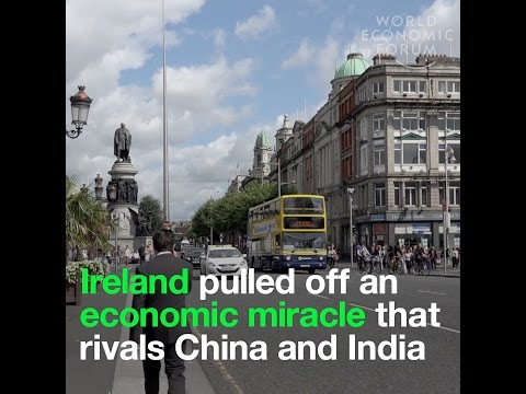 Ireland pulled off an economic miracle that rivals China and India