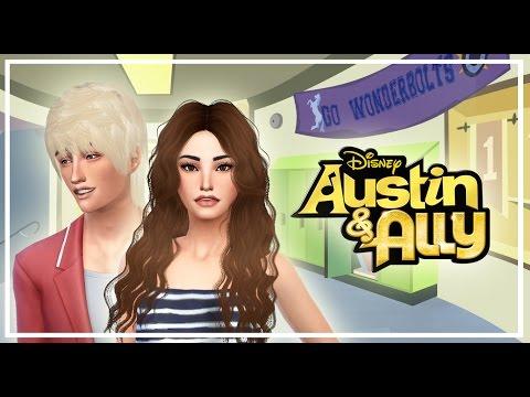 Los Sims 4 Austin & Ally - Parte 1 - ¡Ally ha encontrado novio!