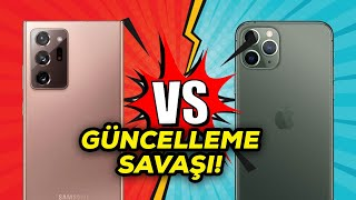 iOS vs ANDROID | Apple, Samsung ve OnePlus güncellemede galip kim?
