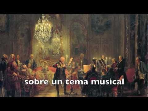 Canon per tonos de la Ofrenda musical. J. S. Bach