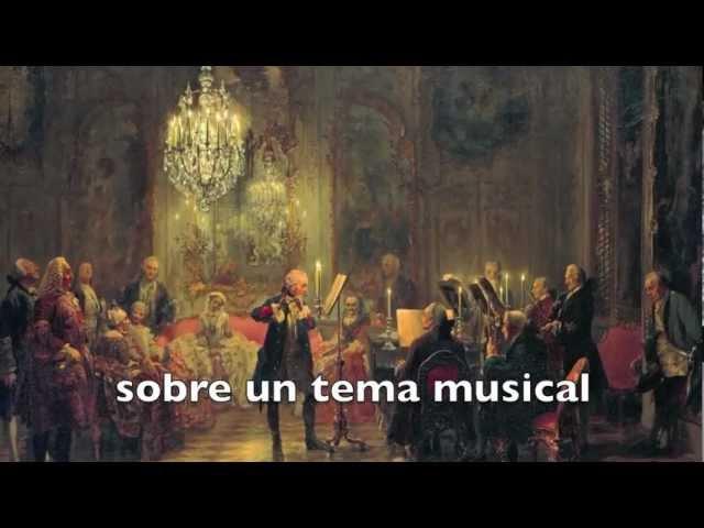 Canon Per Tonos De La Ofrenda Musical J S Bach Youtube