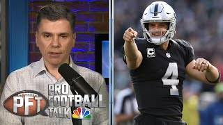 PFT Overtime: What does Antonio brown deal mean for Derek Carr? | Pro Football Talk | NBC Sports
